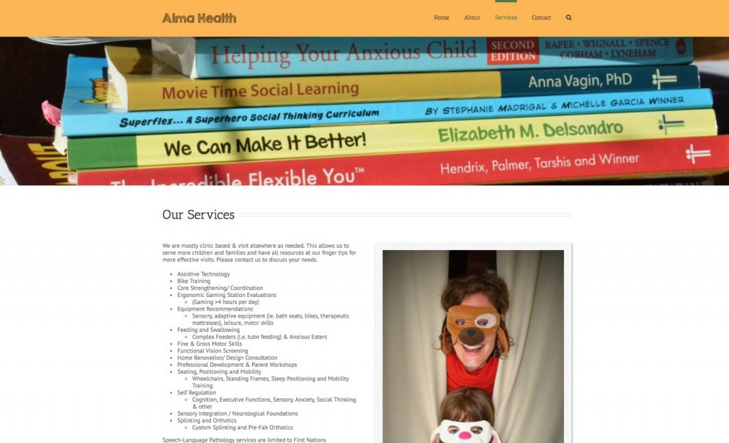almahealthcentre.ca services